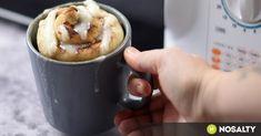 Mikrós bögrés fahéjas csiga recept képpel. Hozzávalók és az elkészítés részletes leírása. A mikrós bögrés fahéjas csiga elkészítési ideje: 12 perc Nutella, Smoothies, Breakfast Recipes, Oatmeal, Healthy Living, Food And Drink, Pudding, Sweets, Baking