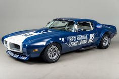1970 Pontiac Firebird Trans-Am VIN: 72AS18 In the days before our modern 186-mph Y-rated tires, street tires were street tires, and race tires were race tires, and never the two shall meet – until the T/A. The B.F. Goodrich Radial T/A was the first American-made tire that was DOT rated, and also had SCCA approval …