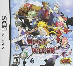 Windy x Windam is a Fighting video game for Nintendo DS. This game developed by Ninja Studio and published by Success. Nds Rom are playable on PC Ds Games, Games To Play, Ever After High Games, Alien Concept Art, Japanese Anime Series, Video Game Art, Video Games, Nintendo Ds, Fighting Games