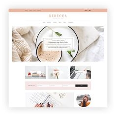 Rebecca - Blog and Shop Theme by AZ-Theme on @creativemarket