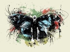 Red Labor. Butterfly. Rorshach eat your heart out