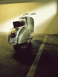 Be a free human being with an independent, Vespa, will.
