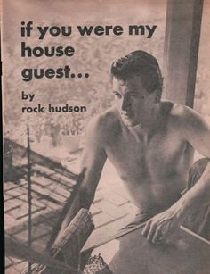 If You Were My House Guest by Rock Hudson