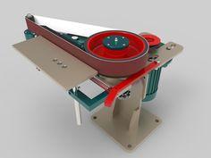 Grinder - STEP / IGES - 3D CAD model - GrabCAD