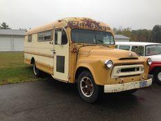 1956 IIHC S School Bus