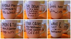 sharpie mugs that ACTUALLY work!