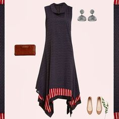 Wear this  asymmetrical ikat kurta for a perfect Indo Chic look Simple Kurta Designs, Kurti Neck Designs, Kurta Designs Women, Modest Fashion, Women's Fashion Dresses, Casual Dresses, Western Kurtis Design, Kurtha Designs, Assymetrical Dress