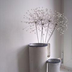 bead dandelion clocks
