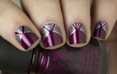 Stunning new year 2014 nail art designs
