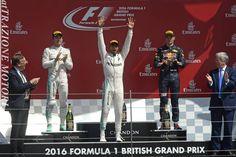 Dominio Di Hamilton ''In Casa'', Sul Podio Rosberg E Verstappen