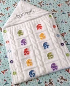 Have a good Friday . bag to to blanket # Örgübattani to Baby Knitting Patterns, Crochet Patterns, Knitted Baby Blankets, Baby Blanket Crochet, Baby Dress Tutorials, Crochet Baby Cocoon, Baby Sweaters, Trendy Baby, Profile