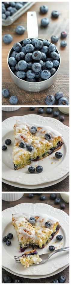 Blueberry Buttermilk Crumb Cake - Make this one ASAP!