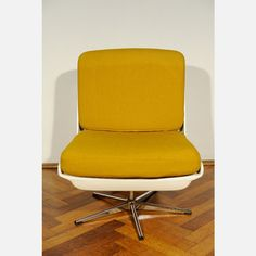 Vario Pur Design Linie: 70s Vario Pure Easy Chair Yellow
