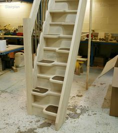 Loft Stairs for Small Spaces | Loft Staircase | Space Saver Staircase | Attick Staircase