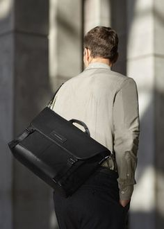 WANT Les Essentiels introduces the Jackson messenger bag: Inspired by the modern… #Fashion_News #essentiels #messenger #want_essentiels