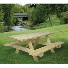 Stain Your Compton Wooden Picnic Table Any Color You Want. This Is Just One  Of The Low Cost Picnic Table Options We Offer.