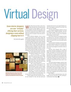 Read the full article (pages 32 to 33) for a fanastic review of our design services: http://ncidigitalmedia.com/publication/?i=158591