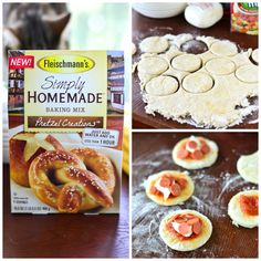 Pepperoni Pizza Pretzel Hand Pies...and a GIVEAWAY!