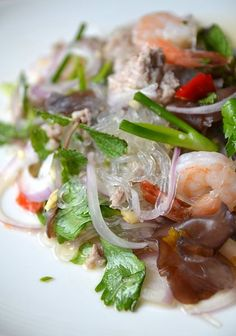 Lao Food Recipes including Mok Bah (fish steamed in banana leaves ...