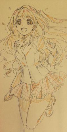 Animé : The Idol Master / Uzuki Shimamura / http://www.project-imas.com/wiki/Uzuki_Shimamura
