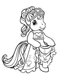 Petite princesse poney