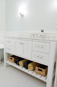 Simple Kids Bathroom Vanity  Home Deco  Pinterest