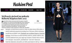 Basia Pasek w sukience by Aleksandra Mirosław na stronie FashionPost <3  !