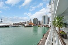 Places to stay in Auckland New Zealand. Luxury Waterfront Apartment sleeps 6 people only £182 per night