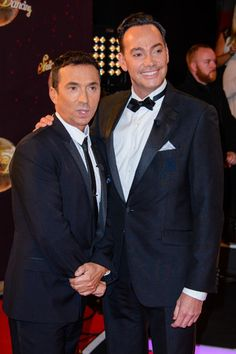 Bruno Tonioli, Craig Revel Horwood at the Strictly Come Dancing launch show, 1st September 2015