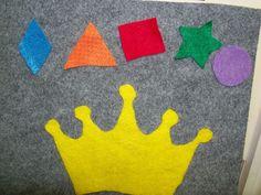 shape crown flannel