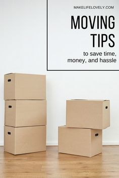 Moving Tips and Tric
