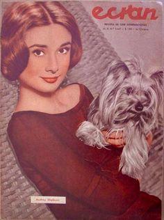 Audrey Hepburn-Ecran Magazine-Chile-17 October 1958