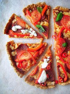 Razowa pizza