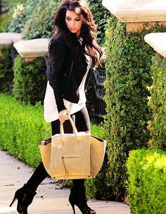 Kim kardashian handbag