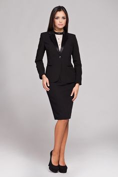 Two piece suits for working women