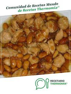 Pollo con almendras (Estilo chino) por laurapg. La receta de Thermomix® se encuentra en la categoría Guarniciones y acompañamientos en www.recetario.es, de Thermomix®