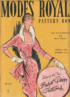 The Modes Royale 1951 Spring/Summer Catalogue
