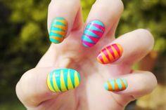 Nail Art: Nail Ideas: Yellow Nail Art