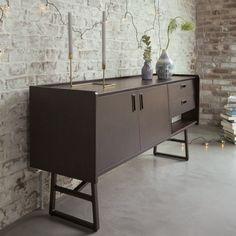 les 25 meilleures id es de la cat gorie buffet en teck sur pinterest buffet r tro mobilier. Black Bedroom Furniture Sets. Home Design Ideas