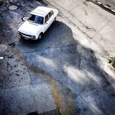 504 #peugeot #classic #french #car #white #pininfarina #brovarone #sixties #limousine #style #francais #italian #design #sunday #coupe