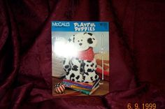 McCalls Playful Puppies Sewing Pattern Booklet by SEWBUSY12, $3.00