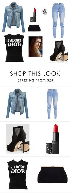 """""""The New Girl"""" by avalon-mulenski on Polyvore featuring LE3NO, ALDO, NARS Cosmetics, Christian Dior and Toni&Guy"""