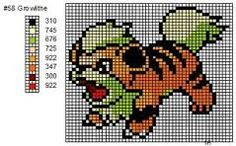 pokemon cross stitch patterns free - Google Search