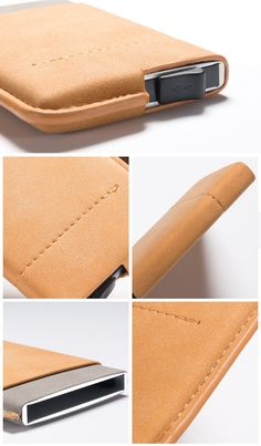 8338aa60852c Genuine Leather Credit Card   ID Holders Wallet
