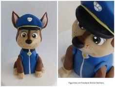 """Résultat de recherche d'images pour """"step by step chase paw patrol cake topper"""""""