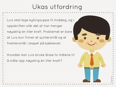 ukas utfordring Family Guy, Teaching, Education, Children, School, Maths, Puzzles, Barn, First Grade