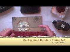 ▶ Vintage Circle Flip Card using Circle Card Thinlit die from Stampin' Up! - YouTube