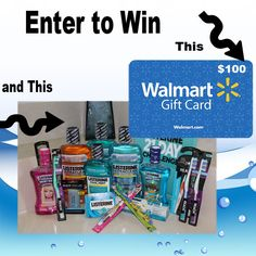 Listerine 21-Day Challenge Giveaway 100 Walmart Gift Card : (Ends 2/27)