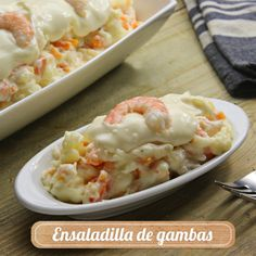 Spanish Food, Canapes, Holidays And Events, Tapas, Potato Salad, Salad Recipes, Macaroni And Cheese, Seafood, Food And Drink