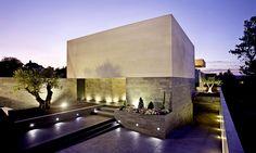 Fachada: Casa MF - Estudio Mañas + Guerrero-Luxán-de Miguel, #Arquitectura